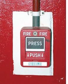 Emergency Fire Button